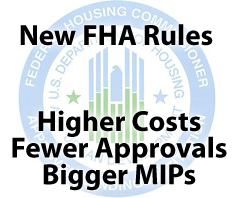 New FHA guidelines