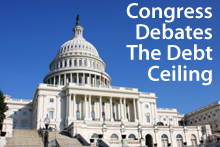 Congress debates the debt ceiling