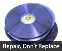 Repair your discs before you replace them