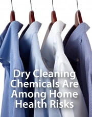 VOCs are present in dry cleaning