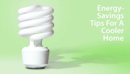 Energy-saving tips