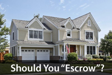 Escrow taxes and insurance