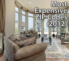expensive zip code 2012 Priciest Places to Live, 2012 Edition