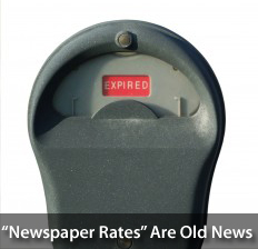 Mortgage rates are expired before they hit the papers