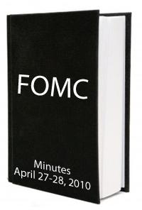 FOMC April 2010 Minutes
