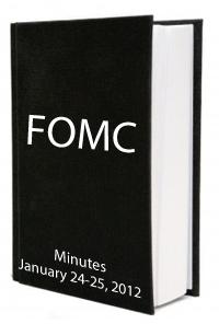 FOMC Minutes January 24-25 2012