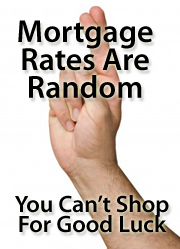 Good luck charms and mortgage rates