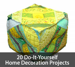 Home decoration projects