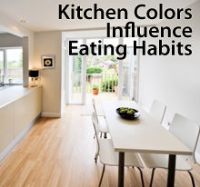 kitchen colors So, Paint Colors Can Affect Your Eating Habits...