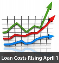 llpa rising 201004 Loan Costs Increasing April 1, 2011