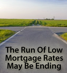 Lake Geneva real estate mortgage low rates reversing