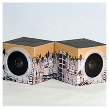 OrigAudio cityscape speakers
