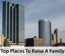 Great places to raise a family