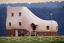Shoe House (image courtesy of Zillow)
