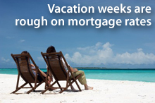 Vacation weeks are rough on Lake Geneva real estate mortgage rates