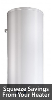 Water heater energy savings